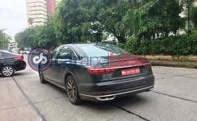 2018 audi a8. perfect audi audi a8 caught testing in india launch 2018 intended audi a8