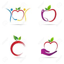 apple logo vector. apple logo vector design represents back to school, healthy life and fruit shop concept