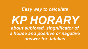 Horary Method Of Calculation Kp Experts In India The
