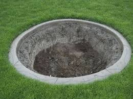 how to build an inground fire pit concrete fire pit exploding build a inground fire pit