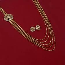 classy one side pendant layermala set