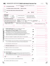 mn form m1 instructions 2016 2018 form mn dor m1 fill online printable fillable blank