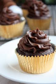 chocolate cupcake with cream cheese frosting. Flourless Chocolate Cupcakes With Cream Cheese Frosting To Cupcake