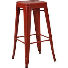 meijer bar stools. Perfect Meijer Industrial Metal 2 Pack Bar Stools  Red  Meijer Throughout Meijer U