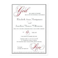 Christian Wedding Invitation Templates Religious Wedding Invitations