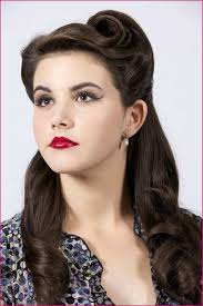 cool 50s updo hairstyles for long hair with hair makeup by monica riester vine 1950s and