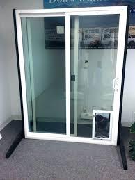 dog doors for glass sliding door with built in storm install dog doors for glass