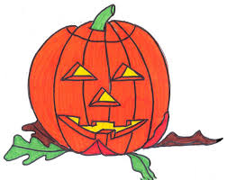 pumpkin drawing. point out imperfections in the leaves, like a brown spot, or where bug ate it etc. pumpkin drawing