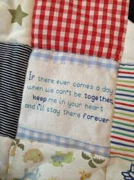 Single size Memory Quilt & Personal message or quote can be added to your quilt or blanket Adamdwight.com