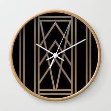 black gold 2 abstract artdeco
