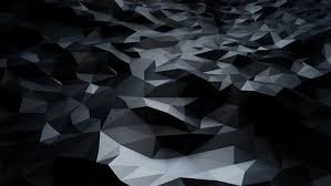 abstract black low poly wallpaper