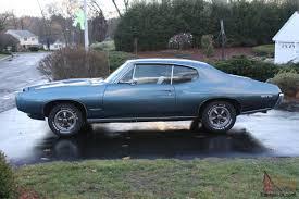 PONTIAC GTO, FACTORY ALEUTIAN BLUE, MATCHING NUMBERS, TURBO ...