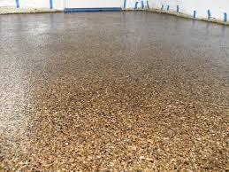garage floor flakes
