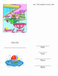 Free Pool Party Invitations Printable Free Pool Party Invitations 8 Best Of Rainbow Pool Party