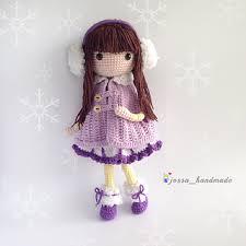 Doll Patterns Impressive Ravelry Icelyn Amigurumi Doll Pattern By Jossa Handmade