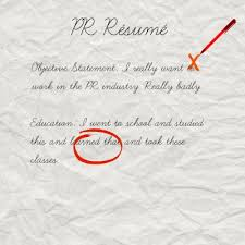 How To Write A Entry Level Resume Unique What Employers Are Looking For On Your PR Résumé AfterCollege