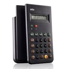 Iconic 1987 Dieter Rams Designed Braun Calculator To Be Re