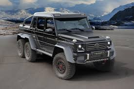 G 63 AMG 6x6 Gets More Oomph From Mansory - autoevolution
