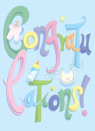 New Baby Congrats Congratulations On New Baby Babyshower Greetingcardideas Baby