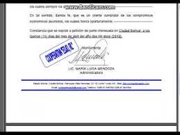 Formato Referencia Personal Carta De Referencia Comercial