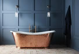 copper bathroom. The Hammered Copper Wye Bateau Cast Iron Bath Tub Bathroom L