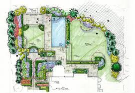 Small Picture Landscape Garden Drawing izvipicom