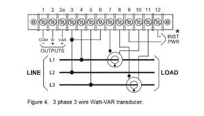 review of ohio semitronics wiring diagrams 3 phase 3 wire gwv5 series power transducer