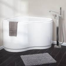 49 kenora acrylic corner tub bathroom within enticing 4 foot corner bathtub your residence idea