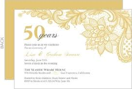 50th wedding anniversary invitations using smart ideas and ely 4