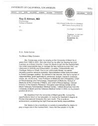 Letter Of Recommendation For Medical Doctor Medical School Recommendation Letter From Physician Rome