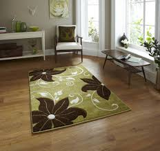 verona oc15 rug green brown rugats uk delivery