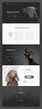 Black Dog Design Company Dogs Unicorns Web Layout Dog Design Website Design