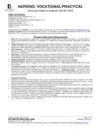Lvn Resume Sample Free Resume Templates