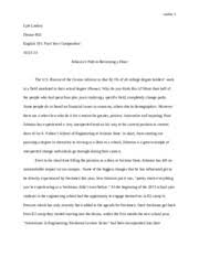 profile should evidence the three key features of a profile an 8 pages profile essay