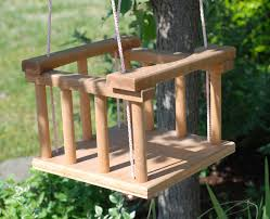 Tree Swings Vintage Handmade Wooden Baby Tree Swingeco Friendly Eco