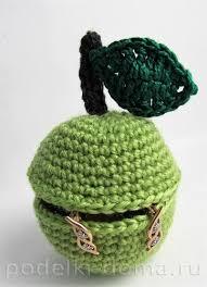 <b>Шкатулка</b> «Яблочко», <b>вязаная</b> крючком — Коробочка идей и ...