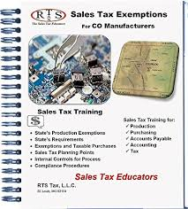 Colorado State Tax Chart Sales Tax Exemptions For Colorado Manufacturers Colorado