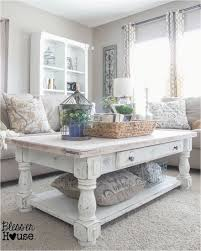 diy restoration hardware coffee table chippy white lime finished coffee table shabby chic