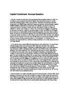 capital punishment the effects of the death penalty gcse  capital punishment sources question