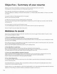 Resume. Best Of Resume Templates Objectives: Resume Templates ...