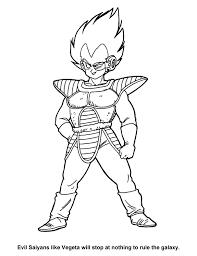 Vegeta Super Saiyan Coloring Pages Best Of Dragon Ball Z Sample