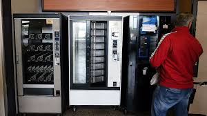 Empty Vending Machine Cool Final Shift At The Kellingley Colliery