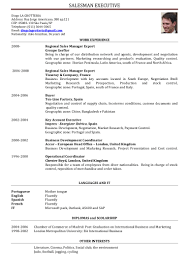 Sales Man Resume Free Resume Example And Writing Download