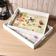 1pc 40x30cm wood dinning bread breakfast tray serving trays for dessert cake cupcake fruit large size nu 005 malaysia