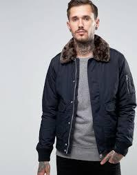 schott air er jacket faux fur collar navy men schott motorcycle apparel schott motorcycle pants accessories