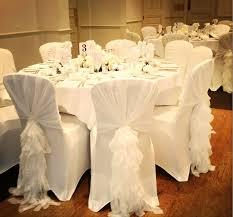 the 25 best chair hire ideas on pinterest wedding chair hire Wedding Linen Brisbane ruffle hoods white Wedding Centerpieces