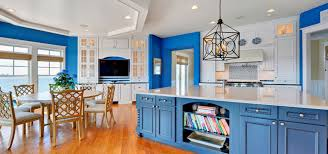 Apartment Kitchen Design Ideas Pictures Inspiration Design Trend Blue Kitchen Cabinets 48 Ideas To Get You Started