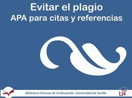 Apa Bibliografía Y Citas Guías De La Bus At Universidad De Sevilla