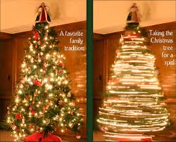 The Rotating Christmas tree could inspire you to make fairy tale atmosphere  at your home