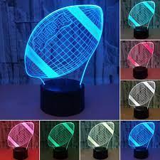Giảm 44 %】 Đêm USB ĐÈN LED 7 Màu Cảm Ứng Cảm Biến Quà Tặng Đèn Pin Hoạt  Động Mới Lạ Bóng Đá